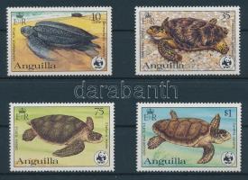 1983 Természetvédelem: Teknősök sor Mi 541-544