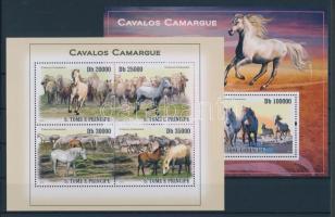 2010 Camargue-i lovak kisív Mi 4363-4366 + blokk Mi 751
