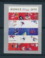 2011 150 éves a norvég sportszövetség öntapadós bélyeg Mi 1743