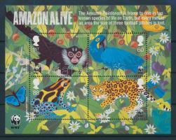 2011 Europa CEPT WWF Amazonas-i esőerdő élővilága blokk