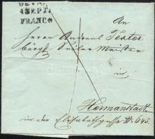 ca 1845 Franco DEVA FRANCO - Hermanstadt