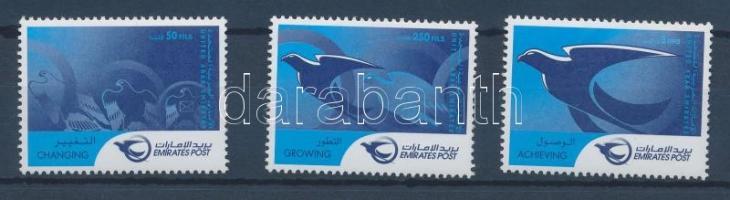 2001 Postai reformok sor Mi 661-663
