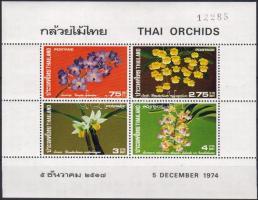 1974 Orchideák blokk Mi 5