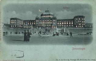 The Hague, Den Haag; Scheveningen, Kurhaus / spa hold to light