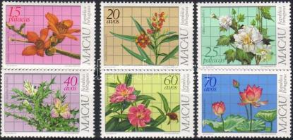 1983 Virágok, gyógynövények sor Mi 505-510