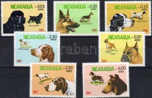 1982 Kutyák Mi 2246-2252