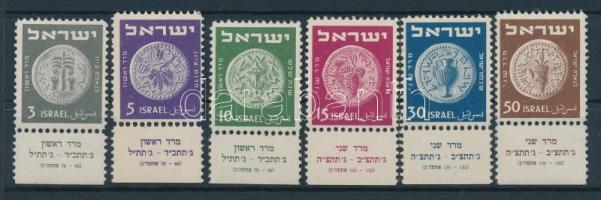1949 Régi pénzek Mi 22-27 tabos
