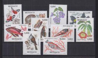 2002 Fauna és flóra sor Mi 2573-2582