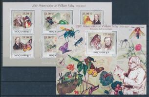 2009 William Kirby születésnapja kisív Mi 3399-3404 + blokk 279