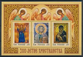 2000 2000 éves a kereszténység blokk Mi 28