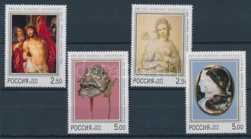 2002 Ermitázs Szentpétervár, festmények sor Mi 961-964