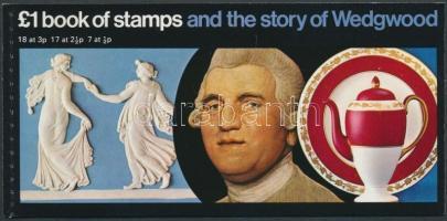 1972 Wedgwood bélyegfüzet MH 36