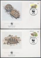 1991 WWF Teknősök 4 FDC Mi 2046-2049
