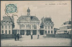 Saint-Omer, La Gare / railway station