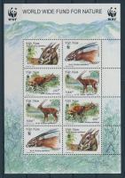 2000 WWF Antilopok kisív Mi 3063-3066