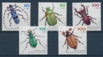 For the youth: endangered beetles set, Az ifjúságnak: veszélyeztetett bogarak sor, Jugend: Gefährdete Käfer Satz