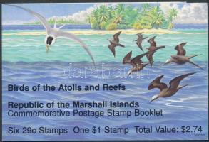Birds stamp-booklet, Maradak bélyegfüzet, Vögel Markenheftchen