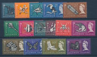1965 Forgalmi sor Mi 113-127