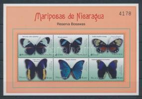 2000 Lepkék kisív Mi 4232-4241