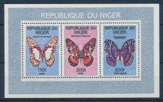 1991 Lepkék kisív Mi 1109-1110 + Mi 1113