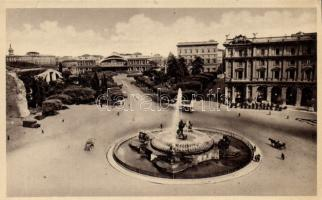 Rome Piazza dell´Esedra, railway station