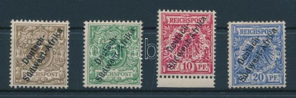 Deutsch - Südwestafrika 1897 Mi 1-4