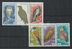 1980 Európai természetvédelmi év, FIP Kongresszus (Essen) Mi 2916-2920 2 hármascsíkban (szelvénnyel)