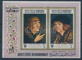 1967 Lucas Cranach festményei blokk 18