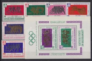 1967 Nyári olimpiai játékok, Mexikó sor Mi 175-782 + blokk 17