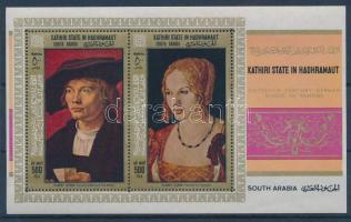 1968 Német festők képei blokk 21