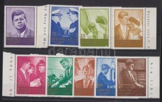 1967 J. F. Kennedy sor ívszéllel Mi 16-24