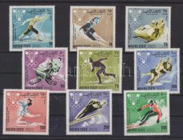 1967 Téli olimpiai játékok sor Mi 39-47