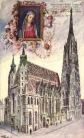 Vienna, Wien; St. Stephen's Cathedral, artist signed