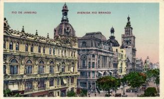 Rio de Janeiro, Rio Branco street