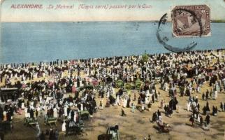 Alexandria, Mahmal, Tapis sacre / celebration