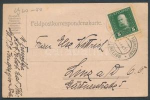 1915 Tábori lap / Field postcard EP JEDRZEJOW b