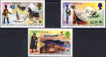 100th anniversary of UPU overprinted; stamp, 100 éves az UPU felülnyomva, bélyeg, 100 Jahre Weltpostverein aufgedruckt; Stamp