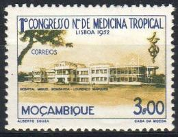 1952 Trópusi gyógyászati kongresszus Mi 412