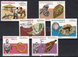 1981 Archeológiai leletek Mi 840-845