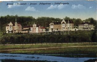 Brassó Fellegvársor, villas
