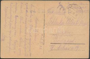 1918 Képeslap Törökországból FP 451