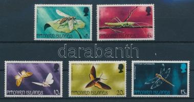 Insects set, Rovarok sor, Insekten Satz
