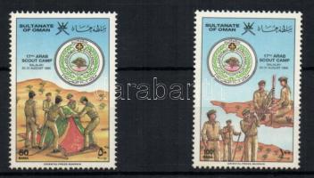 1986 17. arab cserkésztalálkozó sor Mi 296-297
