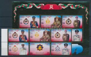 2000 Nemzeti ünnep hatostömb Mi 496-501 + blokk 22