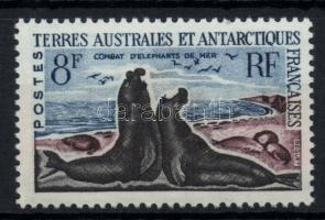Tiere (Südlicher See-Elefant), Állatok (Tengeri elefánt), Animals (Lamantine)