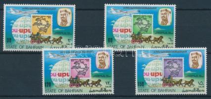 1974 UPU évforduló sor Mi 214-217