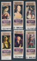 1969 Olimpia: Kultúra vágott sor Mi 889-894