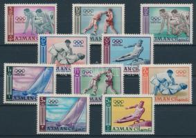 1965 Nyári olimpiai játékok, Tokió sor Mi 31-40
