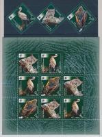 2007 Természetvédelem: Veszélyeztetett állatok sor + kisív Mi 1434-1436