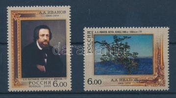 2006 200 éve született Aleksandr Iwanow sor Mi 1364-1365 + kisívsor
